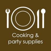 Cooking & party supplies