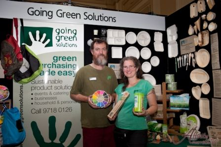 Going Green Solutions at expo